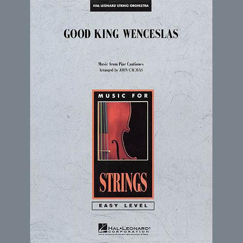 John Cacavas, Good King Wenceslas - Violin 1, Orchestra