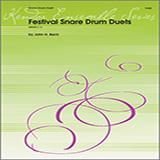 John H. Beck Festival Snare Drum Duets Sheet Music and PDF music score - SKU 124879