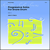 John H. Beck Progressive Solos For Snare Drum Sheet Music and PDF music score - SKU 421163
