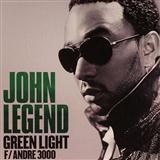 John Legend featuring Andre 3000 Green Light Sheet Music and PDF music score - SKU 158947