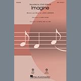 John Lennon Imagine (arr. Kirby Shaw) Sheet Music and PDF music score - SKU 445531