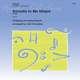 John Marcellus Sonata In Bb Major (K292) - Baritone B.C. Sheet Music and PDF music score - SKU 373438