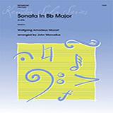John Marcellus Sonata In Bb Major (K292) - Piano Accompaniment Sheet Music and PDF music score - SKU 373440