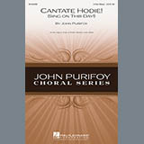 John Purifoy Cantate Hodie! (Sing On This Day) Sheet Music and PDF music score - SKU 159963