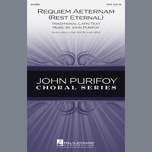 John Purifoy, Requiem Aeternam (Rest Eternal), SSA