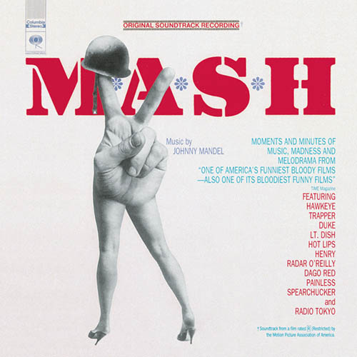 Johnny Mandel, M.A.S.H. (Suicide Is Painless), Piano, Vocal & Guitar (Right-Hand Melody)