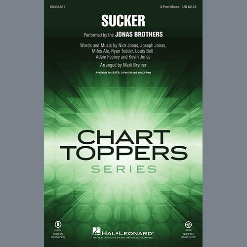 Jonas Brothers, Sucker (arr. Mark Brymer), 3-Part Mixed Choir