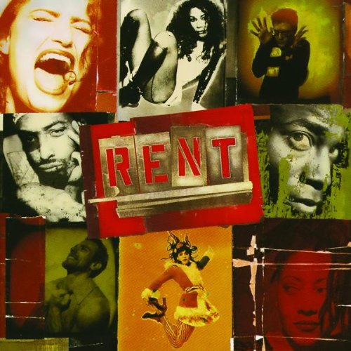 Jonathan Larson, Rent, Piano, Vocal & Guitar (Right-Hand Melody)