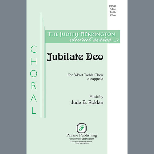 Jude B. Roldan, Jubilate Deo, 3-Part Mixed Choir
