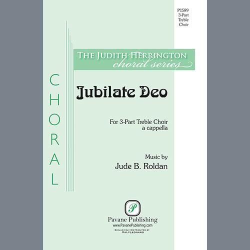 Jude B. Roldan, Jubilate Deo, 3-Part Mixed Choir