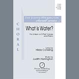 Judith Herrington What is Water? Sheet Music and PDF music score - SKU 450949