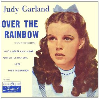 Judy Garland, Over The Rainbow (from 'The Wizard Of Oz'), Piano & Vocal