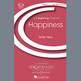 Juliet Hess Happiness Sheet Music and PDF music score - SKU 71300