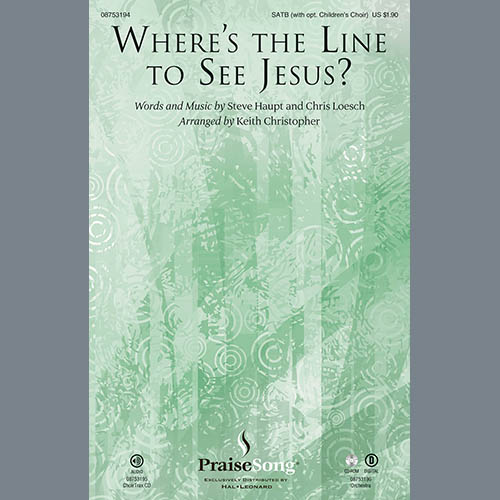 Keith Christopher Where's The Line To See Jesus? profile image