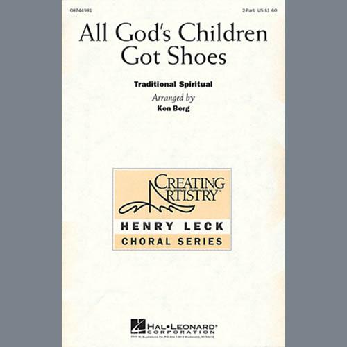 Traditional Spiritual All God's Children Got Shoes (arr. Ken Berg) profile image