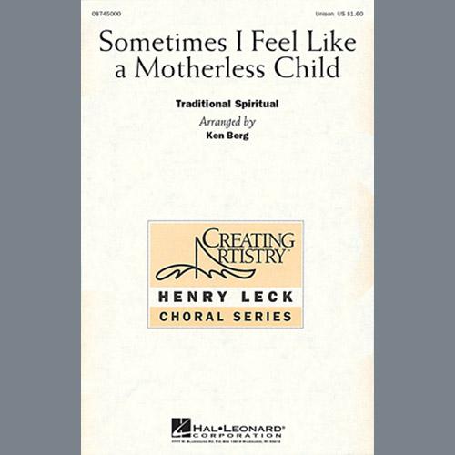 Ken Berg Sometimes I Feel Like A Motherless Child profile image