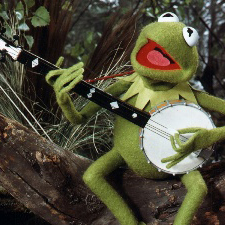 Kermit The Frog, The Rainbow Connection, Piano, Vocal & Guitar (Right-Hand Melody)