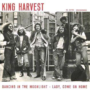 King Harvest, Dancin' In The Moonlight, Piano, Vocal & Guitar (Right-Hand Melody)