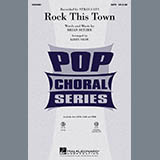 Kirby Shaw Rock This Town Sheet Music and PDF music score - SKU 284183