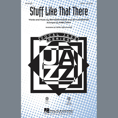 Stuff Like That There (arr. Kirby Shaw) sheet music