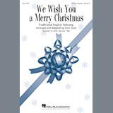 Kirby Shaw We Wish You A Merry Christmas Sheet Music and PDF music score - SKU 182477