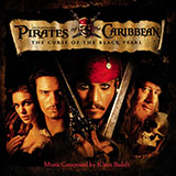 Klaus Badelt He's A Pirate (from Pirates Of The Caribbean: The Curse of the Black Pearl) Sheet Music and PDF music score - SKU 431227