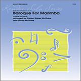 Kristen Shiner McGuire & David McGuire Baroque For Marimba Sheet Music and PDF music score - SKU 125046