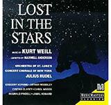 Kurt Weill Lost In The Stars Sheet Music and PDF music score - SKU 60738