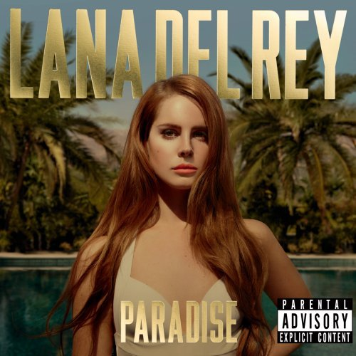 Lana Del Rey, Blue Velvet, Piano, Vocal & Guitar (Right-Hand Melody)