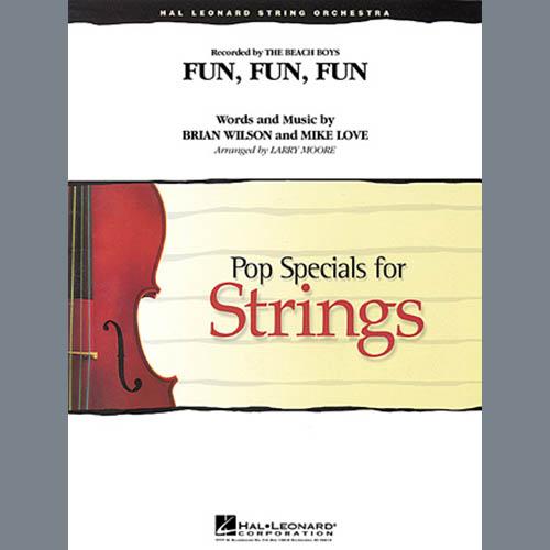 Larry Moore, Fun, Fun, Fun - Violin 2, Orchestra
