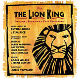 Lebo M They Live In You (from The Lion King: Broadway Musical) Sheet Music and PDF music score - SKU 65526