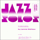 Lennie Niehaus Jazz Solos For Alto Sax, Volume 2 Sheet Music and PDF music score - SKU 124911