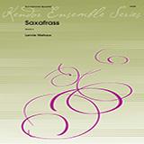 Lennie Niehaus Saxafrass - 2nd Eb Alto Saxophone Sheet Music and PDF music score - SKU 368776
