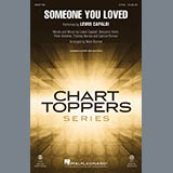 Lewis Capaldi Someone You Loved (arr. Mark Brymer) Sheet Music and PDF music score - SKU 431347