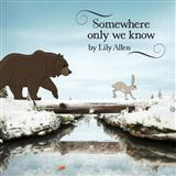 Lily Allen Somewhere Only We Know (arr. Mark De-Lisser) Sheet Music and PDF music score - SKU 119850