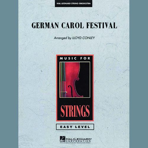 Lloyd Conley, German Carol Festival - Full Score, Orchestra