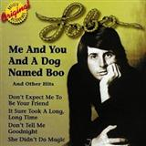 Lobo Me And You And A Dog Named Boo Sheet Music and PDF music score - SKU 16407