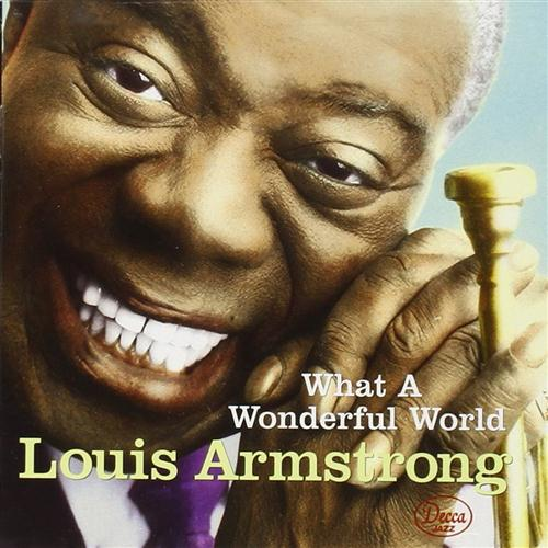 Louis Armstrong, What A Wonderful World, Easy Piano