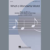 Louis Armstrong What A Wonderful World (arr. Audrey Snyder) Sheet Music and PDF music score - SKU 448600