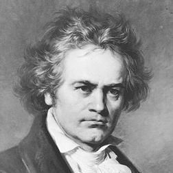 Ludwig van Beethoven Bagatelle In C Minor, Op. 119, No. 5 Sheet Music and PDF music score - SKU 62459