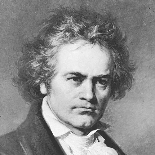 Ludwig van Beethoven, Symphony No.5, Slow Movement Theme, Piano, Vocal & Guitar (Right-Hand Melody)
