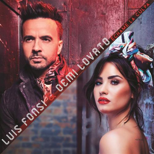 Luis Fonsi and Demi Lovato, Echame La Culpa, Piano, Vocal & Guitar (Right-Hand Melody)