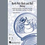 Mac Huff North Pole Rock And Roll (Medley) - Baritone Sax Sheet Music and PDF music score - SKU 279315