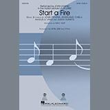John Legend Start A Fire (from La La Land) (arr. Mac Huff) Sheet Music and PDF music score - SKU 183670