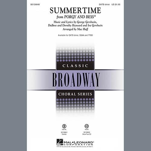 Summertime (arr. Mac Huff) sheet music
