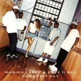 Mariah Carey One Sweet Day Sheet Music and PDF music score - SKU 109574