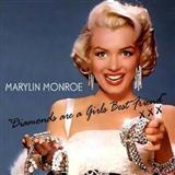 Marilyn Monroe Diamonds Are A Girl's Best Friend Sheet Music and PDF music score - SKU 24260