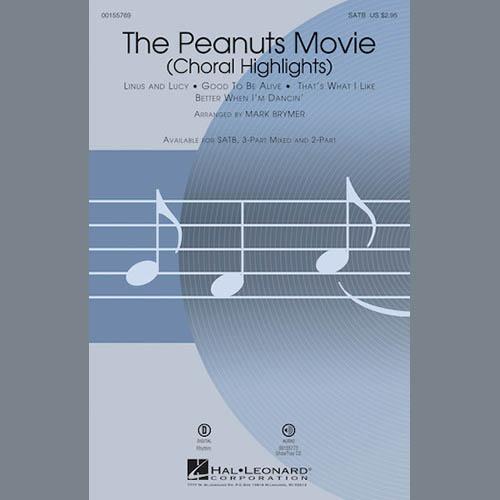 Mark Brymer, The Peanuts Movie (Choral Highlights), 2-Part Choir
