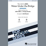 Adele Water Under The Bridge (arr. Mark Brymer) Sheet Music and PDF music score - SKU 173917