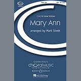 Mark Sirett Mary Ann Sheet Music and PDF music score - SKU 68674